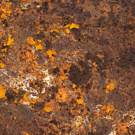 steel texture: Old rust textured and background Stock Photo