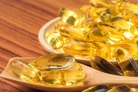 omega3: Close-up Fish oil omega3