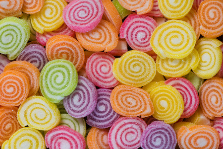 Colorful candy background Banco de Imagens