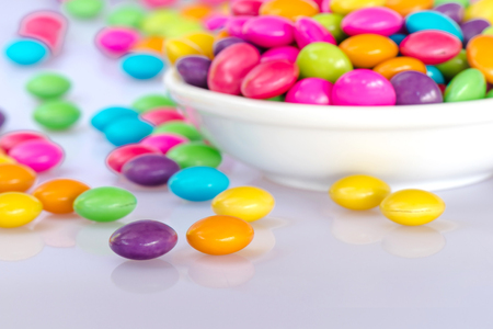chocolate candy: Colorful chocolate candy Stock Photo