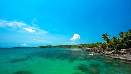 kood: Reef and shallow beach at Koh Kood Island