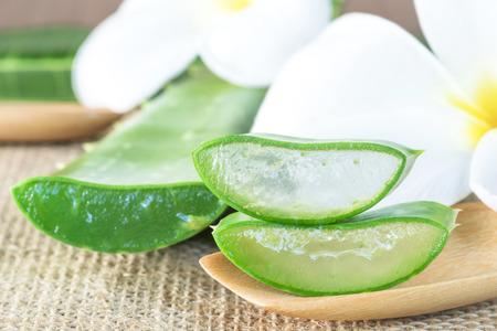 Aloe Vera utiliser dans le spa pour les soins de la peau Banque d'images - 48476651