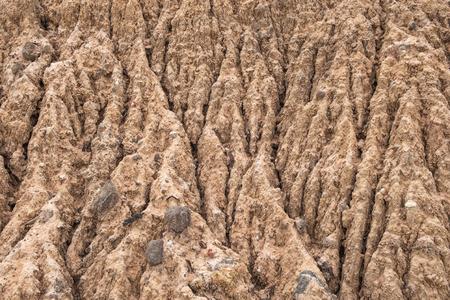 soil erosion: Soil Erosion background Stock Photo