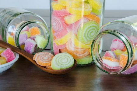 multi colour: Multi colour Candies for child Stock Photo