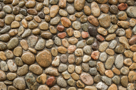 bedrock: Stone wall background Stock Photo