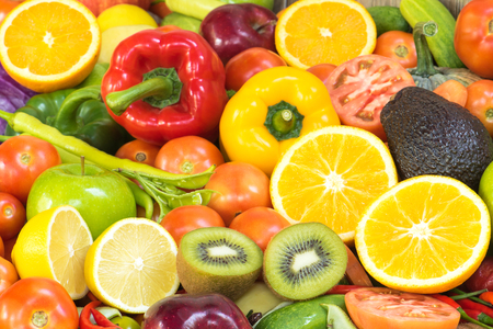 mixed vegetables: Fruits and vegetables for healthy