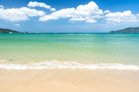 phuket province: Phatong beach located Phuket province ,Thailand