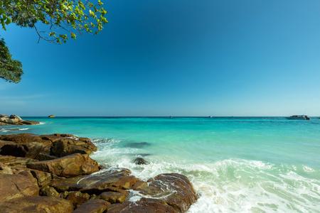 greeen: Beautiful Stone beach at Tha Cai Island,Thailand