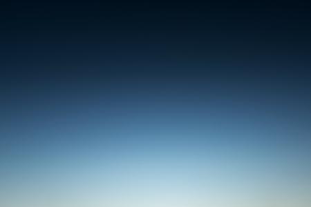 ravishing: Wonderful blue sky  befor sunrise in the winter