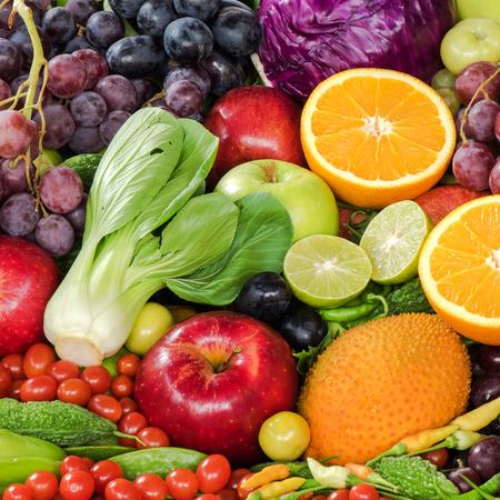 foe: Fresh fruits and vegetables foe heathy