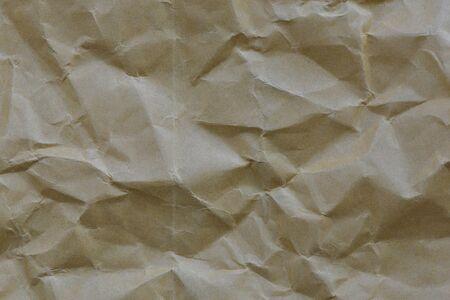 textured paper: Crumpled brown paper textured