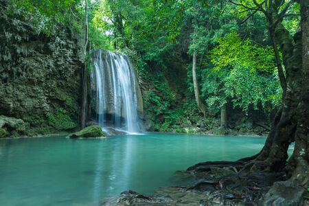 Clean and purity waterfall for the best relax