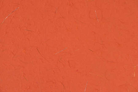 paper background: Orange paper texture for background Stock Photo