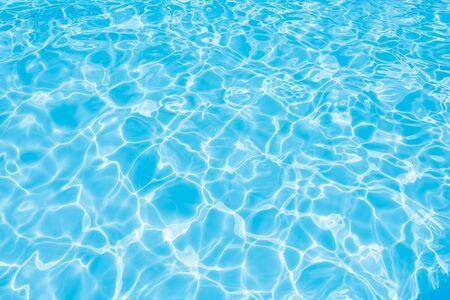 Beautiful Water suface in swimming pool Stock Photo
