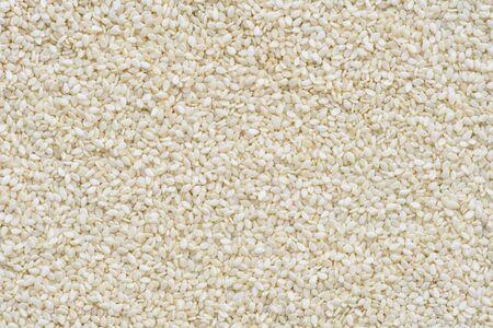 sesame seed: White sesame seed background