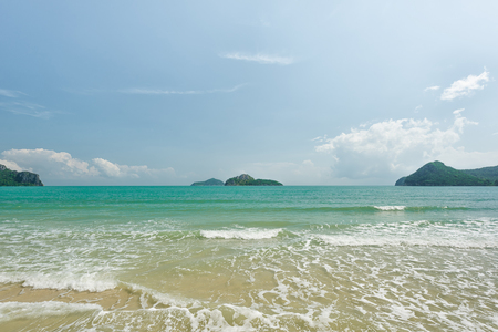 clear: Water clear at the beautiful tropical beach