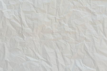 crumpled: Crumpled white paper background Stock Photo