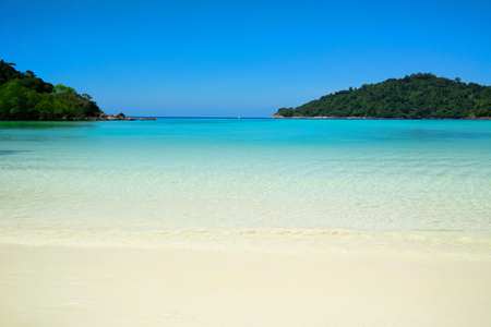 tranquil: Tranquil beach, Surin Island in Thailand