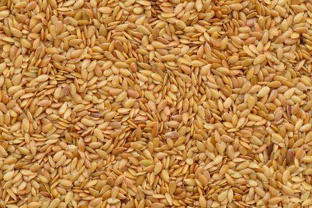linseed: Golden linseed pattern Stock Photo
