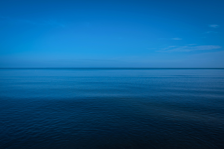 deep blue: Vast ocean calm