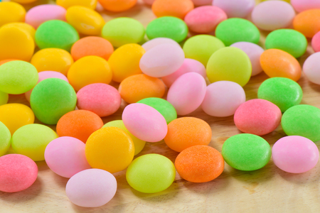 sugary: Colorful sugary candy, Multi colour Dessert sweet for child, Sugary candy heart shape background