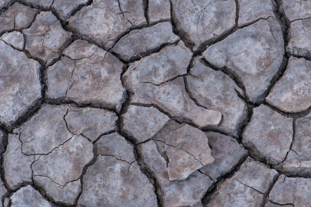 barrenness: Dry soil texture Stock Photo