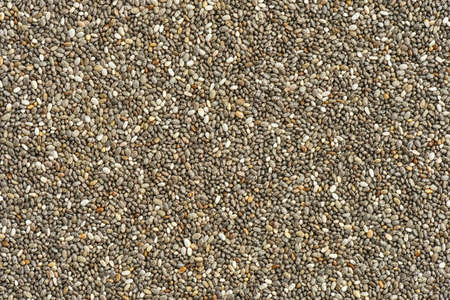 macrobiotic: Chia seed background Stock Photo