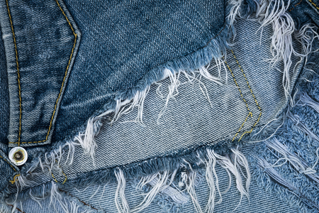 worn: Worn old jean and texture