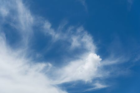 nebulosity: Beautiful Blue sky and white fluffy cloud