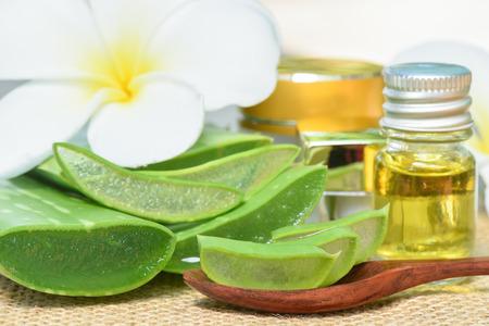 Aloe Vera use in spa for skincare and cosmetic