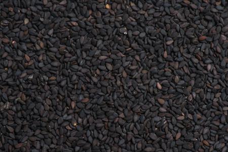 sesame seed: Black sesame seed background