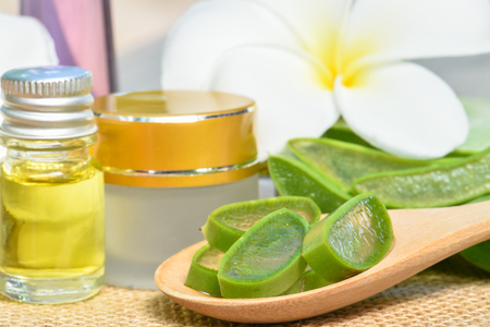 Aloe Vera use in spa for skincare and cosmetic