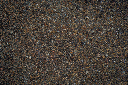 textured wall: Gravel wall background and textured Stock Photo
