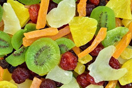 frutas secas: Multicolor various dry fruits background Foto de archivo