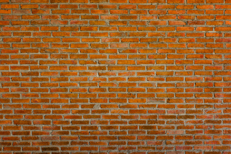 Pattern  brick wall for background and textured, Seamless old brick wall background Stock Photo