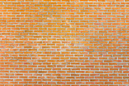 Pattern of old brick wall for background and textured