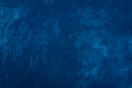 Blue dye indigo background Standard-Bild