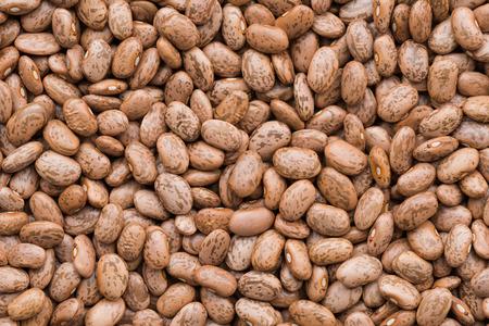 borlotti beans: Pinto bean background and texture Stock Photo