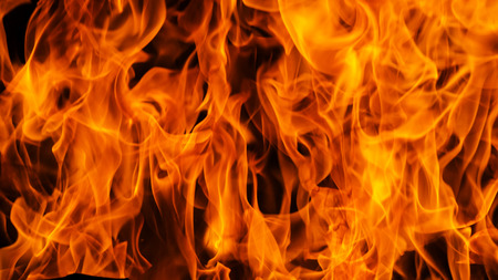 Blaze fire flame background and textured 版權商用圖片