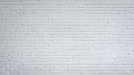 Pattern of white brick wall for background and textured, White wall background Banque d'images - 106165678