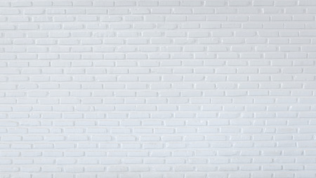 Pattern of white brick wall for background and textured, White wall background Banque d'images - 106165680