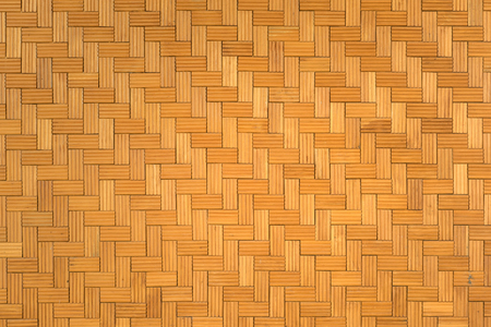 Beautiful pattern of wooden wall for background and texture, Seamless surrounding brown brick wall Banque d'images - 106166024