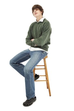 Portrait of a casual young man Stock Photo