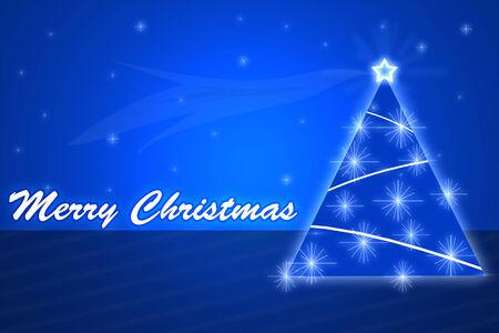 christmass: merry christmass blue background
