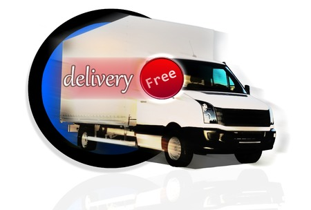 White Truck - Free Delivery photo
