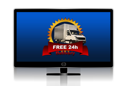 Free delivery tv photo