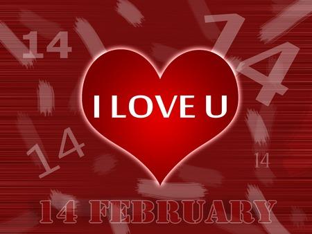 Valentines 14 february texture photo