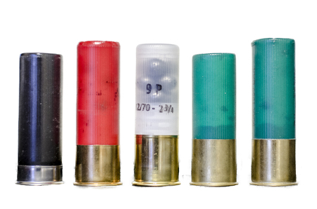 shotgun shells isolated
