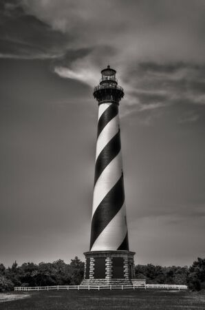 Lighthouse in NC Stock Photo - 63055960