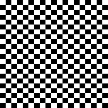 black borders: Checkerboard background - Black and white checkerboard pattern